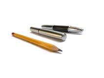 Карандаш и ручки Стоковое Изображение