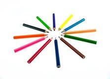 карандаш предпосылки 3d представляет белизну Стоковое Изображение RF