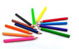 карандаш предпосылки 3d представляет белизну Стоковые Изображения RF