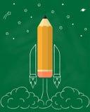 Карандаш Ракеты Стоковая Фотография RF