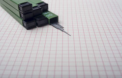 карандаш руководства механически Стоковые Изображения RF