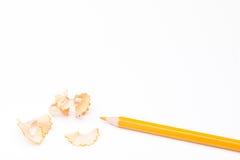 Карандаш с коркой для школы стоковое изображение rf