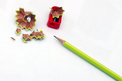 карандаш точит стоковые изображения rf