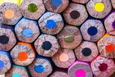 карандаш цвета для текстуры Стоковые Изображения RF