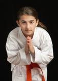 карате девушки Стоковое Изображение RF