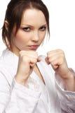 карате девушки Стоковое фото RF