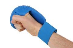 карате перчатки кулачка Стоковая Фотография