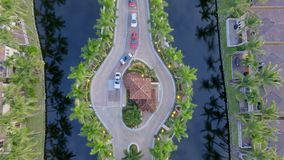 Караульное помещение к охраняемой резиденции Флориды Стоковая Фотография