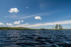 Карельское озеро Стоковые Фотографии RF