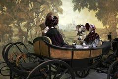 карета одевая окно манекенов Стоковая Фотография RF