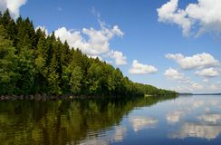 Карельский ландшафт Стоковое Изображение RF