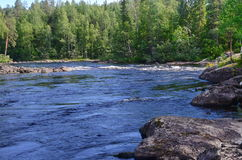 Карельское река Стоковая Фотография