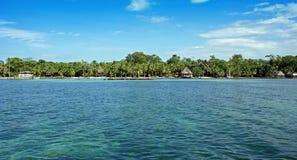 карибская лагуна стоковое фото