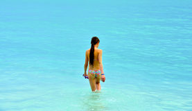 карибская девушка стоковые фотографии rf