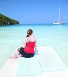 Карибские каникулы стоковое фото rf