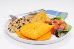 карибские пирожки мяса Стоковые Изображения RF