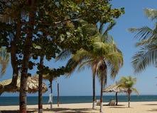 Карибские пляжи стоковое изображение