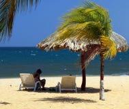 Карибские пляжи стоковые изображения rf