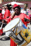 Карибский барабанщик Стоковое фото RF