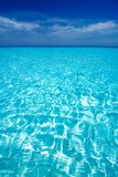 карибский взгляд моря рая Стоковое Фото