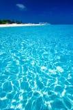 карибский взгляд моря рая Стоковое Изображение RF