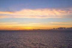 карибский восход солнца Стоковое Изображение RF