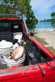 Карибский вылов рыбы Стоковое Изображение RF