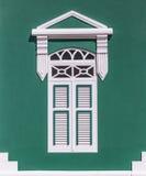 Карибский зеленый цвет Стоковое Фото