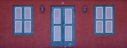 Карибский красный цвет #12 Стоковое фото RF