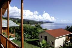 карибский курорт сценарный Стоковое Изображение RF