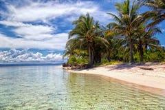 Карибский остров в Сан Blas Стоковая Фотография RF