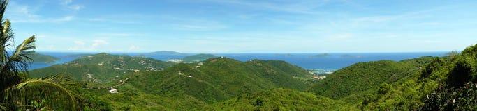 карибский остров сценарный Стоковые Фотографии RF