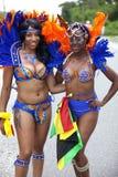 Карибский парад в Атлантик-Сити, Нью-Джерси Стоковое Изображение