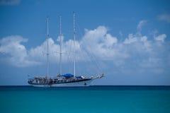 карибский парусник Стоковое Фото