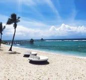 Карибский пляж стоковые изображения