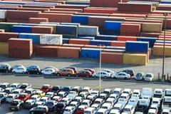 карибский порт Стоковая Фотография