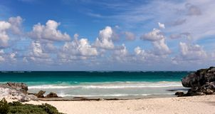 карибский прибой Стоковые Изображения