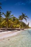 Карибский пляж Стоковая Фотография