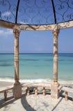 карибский gazebo Стоковые Изображения