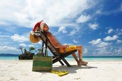 карибский santa Стоковое фото RF