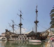 04 карибских пирата Стоковые Изображения