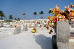 карибское кладбище Стоковое Изображение RF