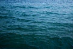 Карибское море и совершенное небо Стоковое Изображение