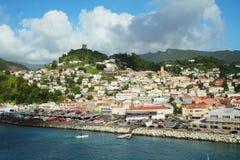Карибы. Аруба. Стоковое Изображение RF