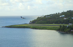 Карибы. Остров Сент-Люсия. Стоковая Фотография RF