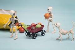 Каркасные дети и конфеты шоколада Стоковое Изображение