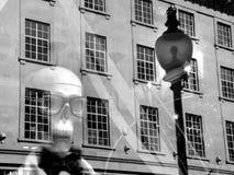 Каркасный манекен на правящей улице, Лондоне Стоковое фото RF