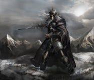Каркасный рыцарь иллюстрация вектора
