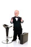 карлик бизнесмена немногая Стоковые Фото