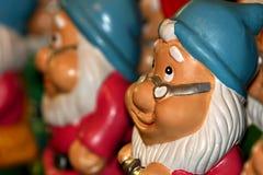 карлик вычисляет santa Стоковая Фотография